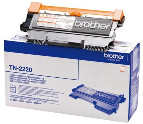TONER BROTHER TN-2220 2.6K ZWART 1 Stuk