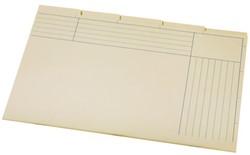 BINNENMAP A6200-5 5DLG KARTON CHAMOIS 1 Stuk
