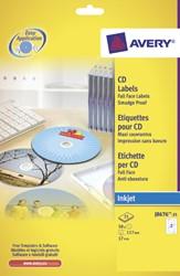 ETIKET AVERY CD J8676-25 50ST 25