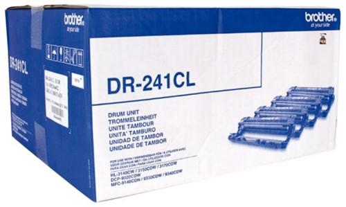 DRUM BROTHER DR-241CL ZWART 3 KLEUREN 4 Stuk