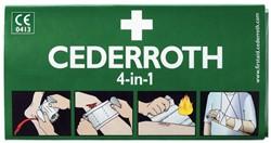 BLOEDSTOPPER CEDERROTH VERBAND GROOT 1 Stuk