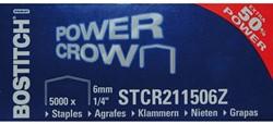 NIETEN BOSTITCH B8 STAAL STRC2115 6MM 5000 Stuk