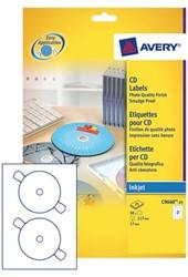 ETIKET AVERY CD C9660-25 HOOGGLANS 50ST 25