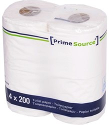 TOILETPAPIER PRIMESOURCE TISSUE 2LAAGS 200 VEL 48 Rol