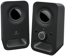 SPEAKERSET LOGITECH Z150 6W ZWART 1 Set