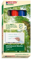 VILTSTIFT EDDING 28 WHITEBOARD ECO ROND 1.5-3 ASS 4 Stuk