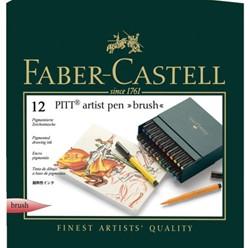 BRUSHSTIFT FABER CASTELL PITT ARTIST 12 Stuk