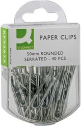 PAPERCLIP Q-CONNECT 50MM GEGALV 40 Stuk