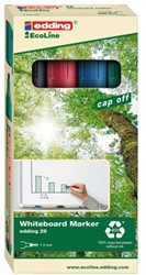 VILTSTIFT EDDING 29 WHITEBOARD ECO SCHUIN 1-5MM ASS 4 Stuk