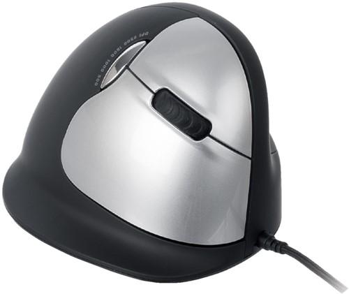 Muis R-GO HE muis groot rechts zwart 1 Stuk