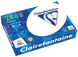 KOPIEERPAPIER CLAIREFONTAINE LASER A4 80GR 2800 WIT 500 Vel
