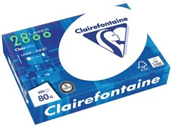 KOPIEERPAPIER CLAIREFONTAINE LASER A4 80GR 2800 WIT 500