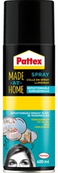 LIJM PATTEX HOBBY SPRAY NON-PERMANENT 400ML 1 Stuk