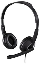 HEADSET HAMA HS300 PC ON EAR ZWART 1 Stuk