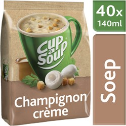 CUP A SOUP TBV DISPENSER CHAMPIGNON CREME 40 PS 40 Portie
