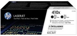 TONERCARTRIDGE HP 410X CF410XD 5.5K ZWART 2 Stuk
