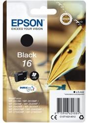 INKCARTRIDGE EPSON 16 T1621 ZWART 1 Stuk