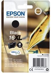 INKCARTRIDGE EPSON 16XL T1631 ZWART 1 Stuk