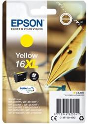 INKCARTRIDGE EPSON 16XL T1634 GEEL 1 Stuk