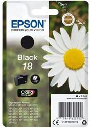 INKCARTRIDGE EPSON 18 T1801 ZWART 1 Stuk