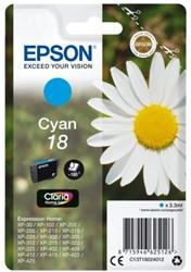 INKCARTRIDGE EPSON 18 T1802 BLAUW 1 Stuk