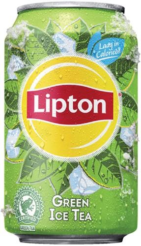 FRISDRANK LIPTON ICE TEA GREEN BLIKJE 0.33L 33 Centiliter