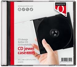 CD DOOS QUANTORE LEEG JEWELCASE 10 Stuk