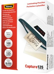 LAMINEERHOES FELLOWES 65X95MM 2X125MICRON 100 Stuk