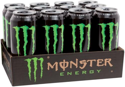ENERGY DRANK MONSTER BLIKJE 0.50L 50 Centiliter