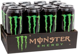 ENERGY DRANK MONSTER BLIKJE 0.50L 50 CL