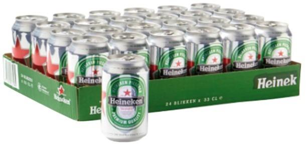 Bier Heineken Blikje 033l 33 Cl