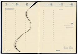 AGENDA 2019 BRETIME 16 MAANDEN 7DAG/2PAGINA ZWART 1 Stuk