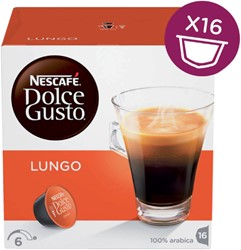 DOLCE GUSTO LUNGO 16 CUPS 16 Cup