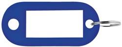 SLEUTELLABEL PAVO PLASTIC DONKERBLAUW 100 Stuk