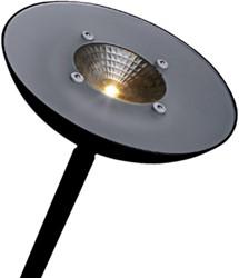 VLOERLAMP HANSA LED FIRST ZWART 1 Stuk