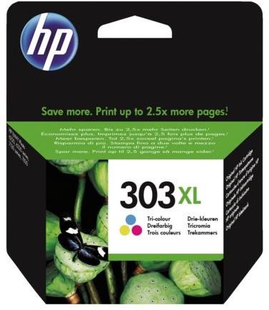 INKCARTRIDGE HP 303XL T6N03AE HC KLEUR 1 Stuk