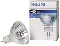 HALOGEENLAMP PHILIPS GU4 35W 12V BRILLIANTLINE 1 Stuk