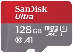 GEHEUGENKAART SANDISK MICRO SDXC ANDROID 128GB CL10 1 Stuk
