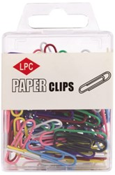PAPERCLIP LPC 28MM ASSORTI 100 Stuk