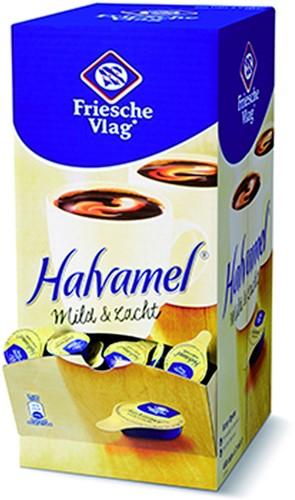 KOFFIEMELK FRIESCHE VLAG HALVAMEL 7.5 GRAM 400