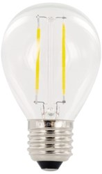 LEDLAMP INTEGRAL E27 2W 2700K WARM WIT 1 Stuk