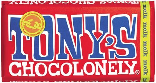 TONY'S CHOCOLONELY MELK 180GR 180 Gram