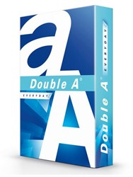 KOPIEERPAPIER DOUBLE A EVERYDAY A4 70GR 500VEL WIT 500 Vel