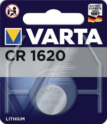 BATTERIJ VARTA CR1620 LITHIUM 1 Stuk
