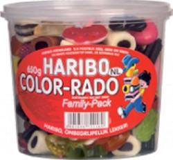 COLORADO HARIBO 650GR WINE GUM + ENGELSE DROP 650