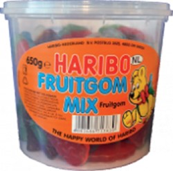 FRUITGOM MIX HARIBO 650GR 650 Gram