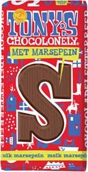 TONY'S CHOCOLONELY MELK MARSEPEIN S 180GR 1 Stuk