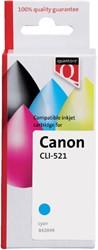 INKCARTRIDGE QUANTORE CAN CLI-521 + CHIP BLAUW 1 Stuk