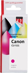 INKCARTRIDGE QUANTORE CAN CLI-521 + CHIP ROOD 1 Stuk