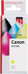 INKCARTRIDGE QUANTORE CAN CLI-521 + CHIP GEEL 1 Stuk